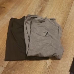 Boy's activewear short sleeved shirts